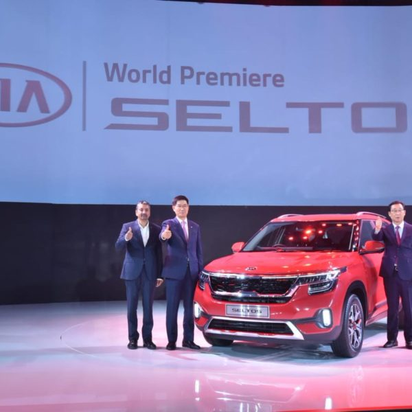 KIA Seltos mid size SUV launched in New Delhi, India