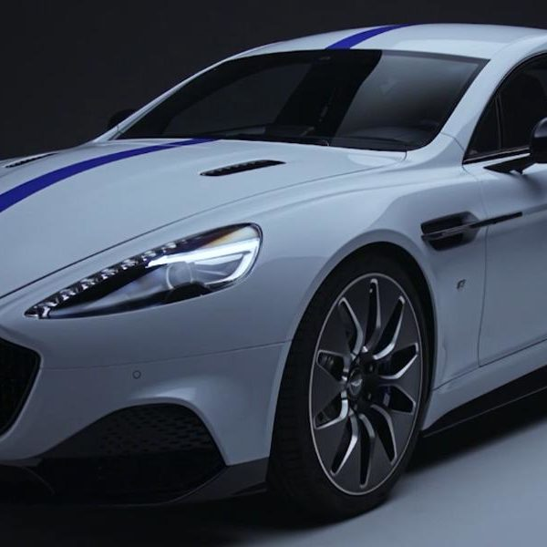 Aston Martin Rapide E the first EV from Aston Martin