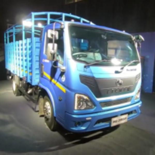 Eicher trucks unveils india's first BS6 trucks