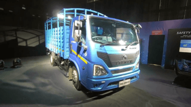 Eicher trucks unveils india's first BS6 trucks