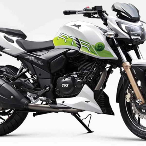 RTR 200 Fi E100 India's First Ethanol Based MotorCycle