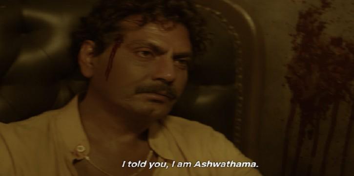 Ashwathama -  Sacred games season 1