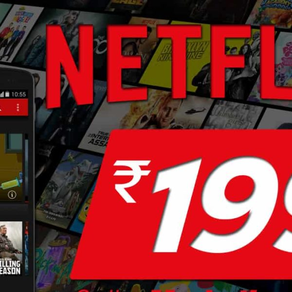 Netflix launched a mobile-only monthly plan for Rs199