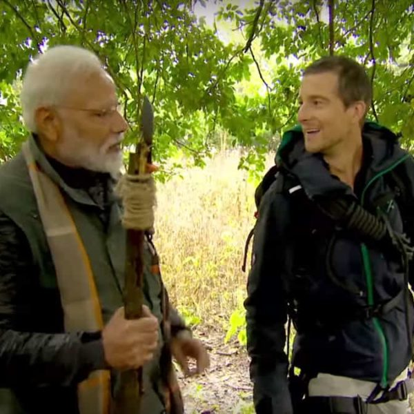 Prime Minister Modi joins Bear Grylls on an adventure
