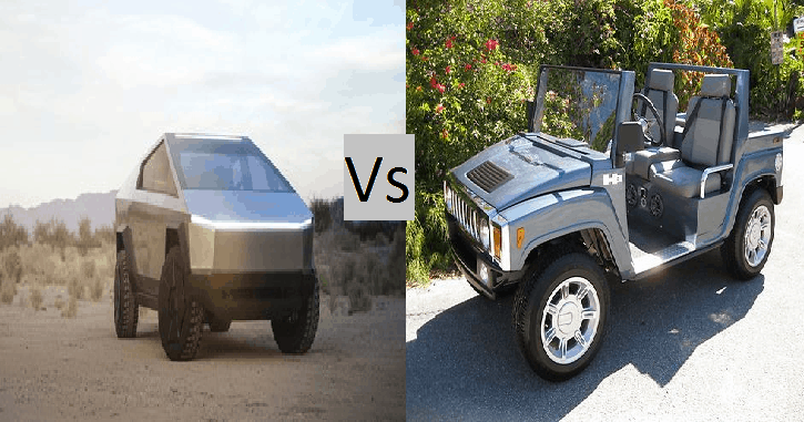 Faceoff : Cybertruck vs H3 Electric