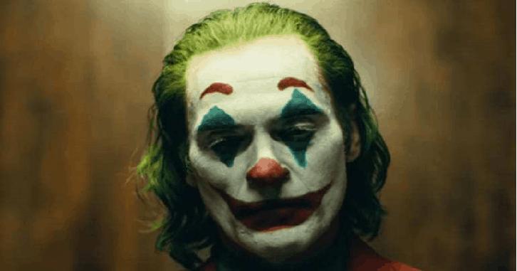 Makeup was on par with Dark Knight Joker