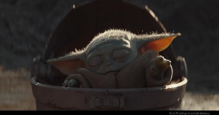 Baby Yodas's Force