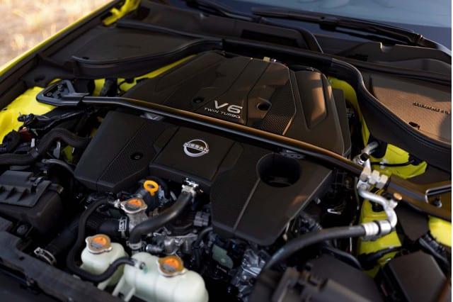 2023 Nissan Z Engine Setup